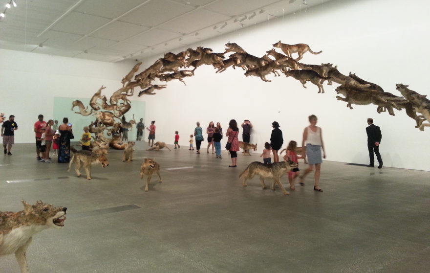 Head On by Cai Guo-Qiang