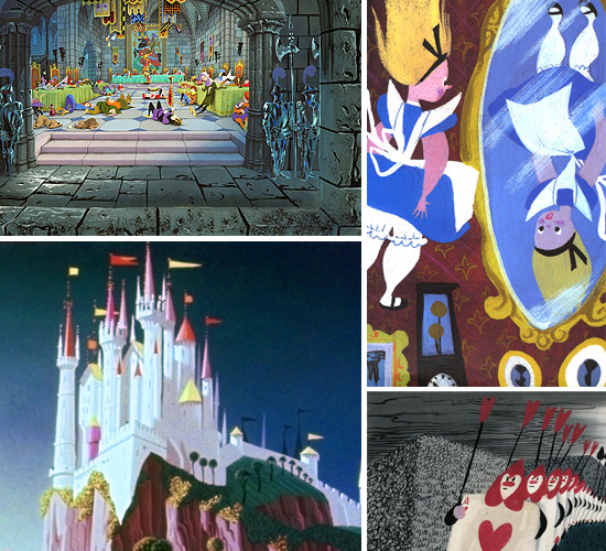Favourite Artists: Mary Blair & Eyvind Earle | Topical Musings